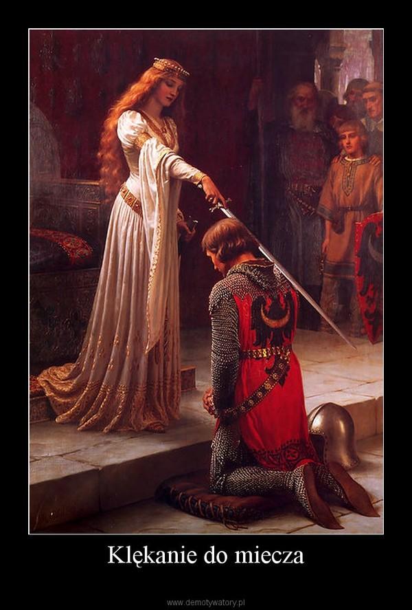 Klękanie do miecza –