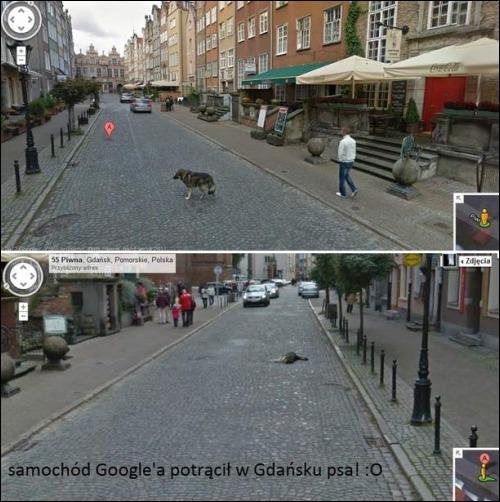 43 Wpadki Z Google Street View Demotywatory Pl