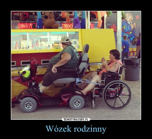Wózek rodzinny –