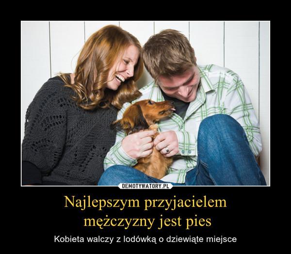Najlepszym przyjacielem mężczyzny jest pies – Kobieta walczy z lodówką o dziewiąte miejsce