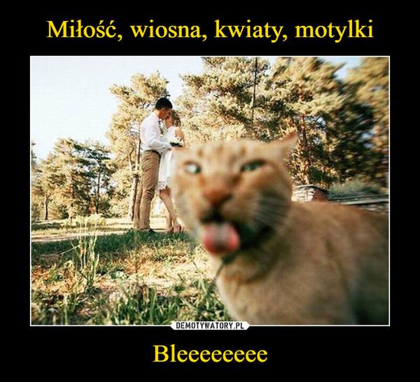 Bleeeeeeee –