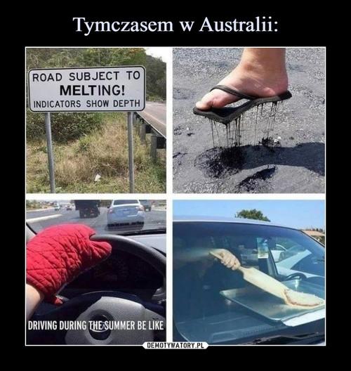 Tymczasem w Australii: