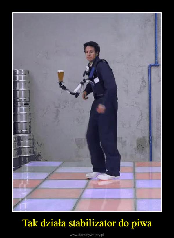 Tak działa stabilizator do piwa –