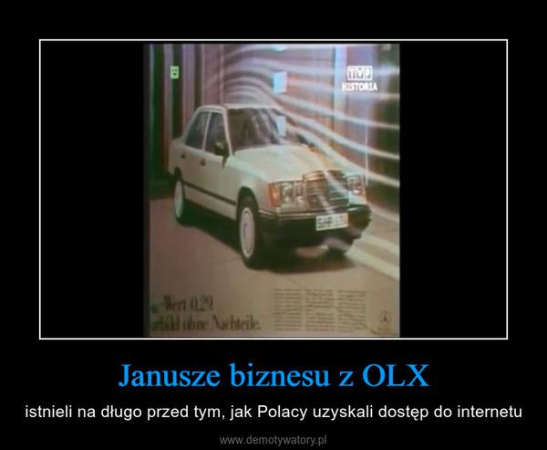 Janusze biznesu z OLX – istnieli na długo przed tym, jak Polacy uzyskali dostęp do internetu
