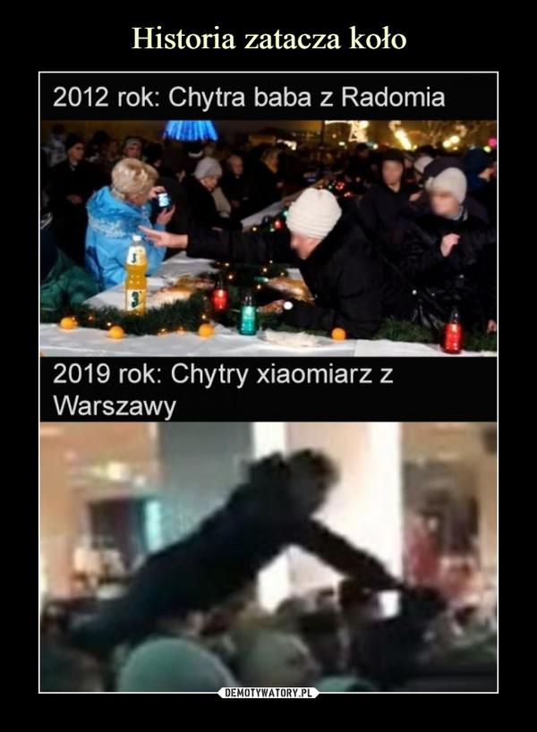 –  2012 rok: Chytra baba z Radomia2019 rok: Chytry xiaomiarz zWarszawy