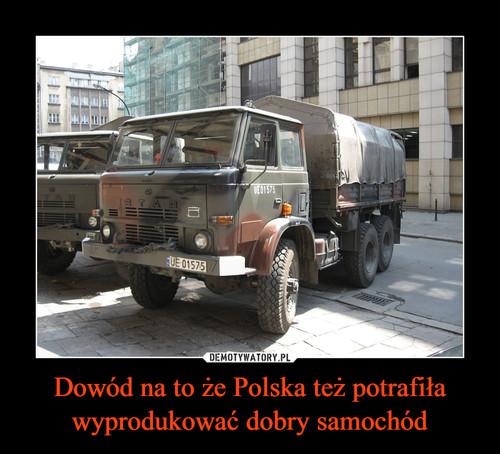Dowód na to że Polska też potrafiła wyprodukować dobry samochód