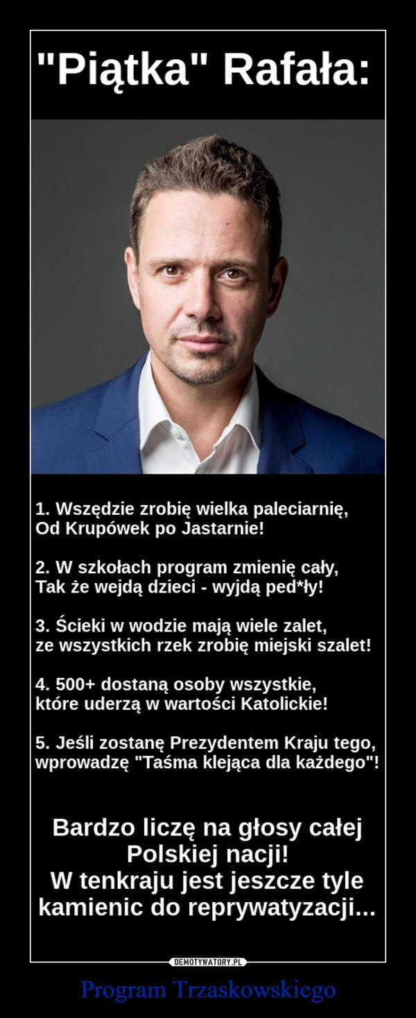 Program Trzaskowskiego –