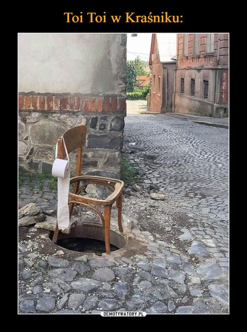 Toi Toi w Kraśniku: