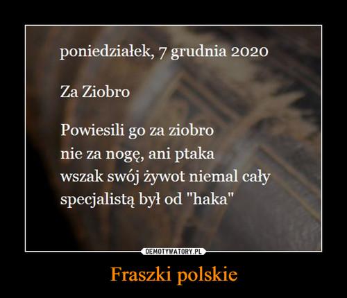 Fraszki polskie