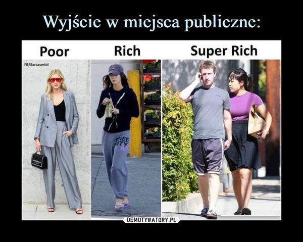 –  poor rich super rich