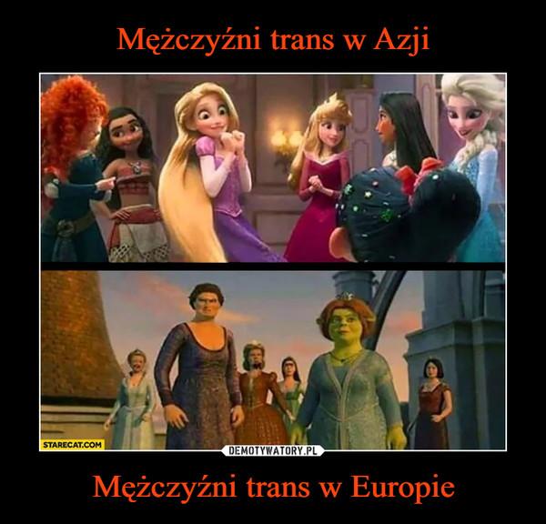 Mężczyźni trans w Europie –